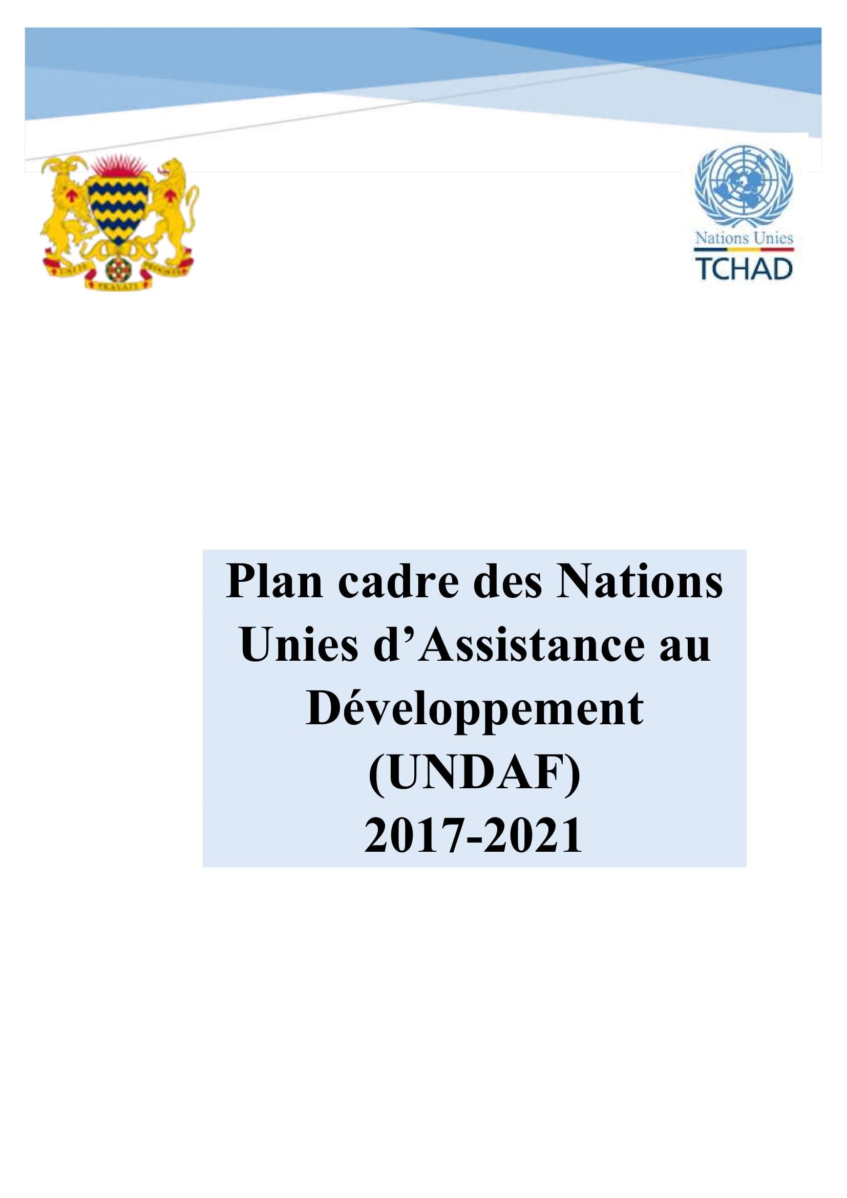 Plan cadre des Nations Unies d'assistance au développement (UNDAF) 2017-2021